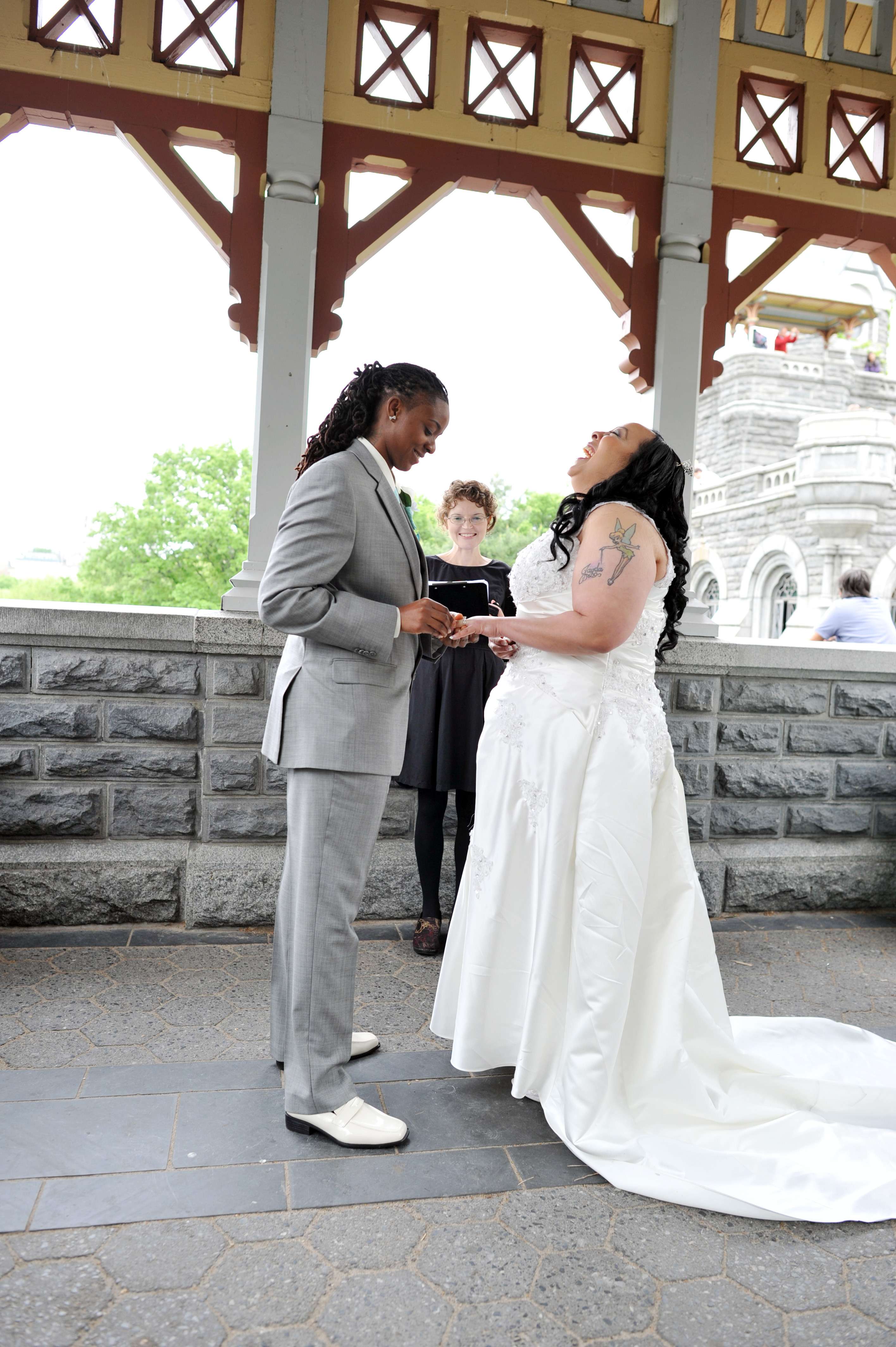 A Special Song Opens The Ceremony Wedding Officiant NYC And Beyond