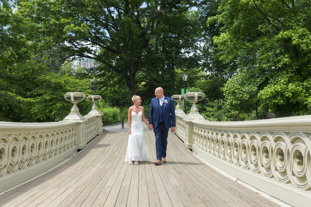 Eloping in New York's Central Park
