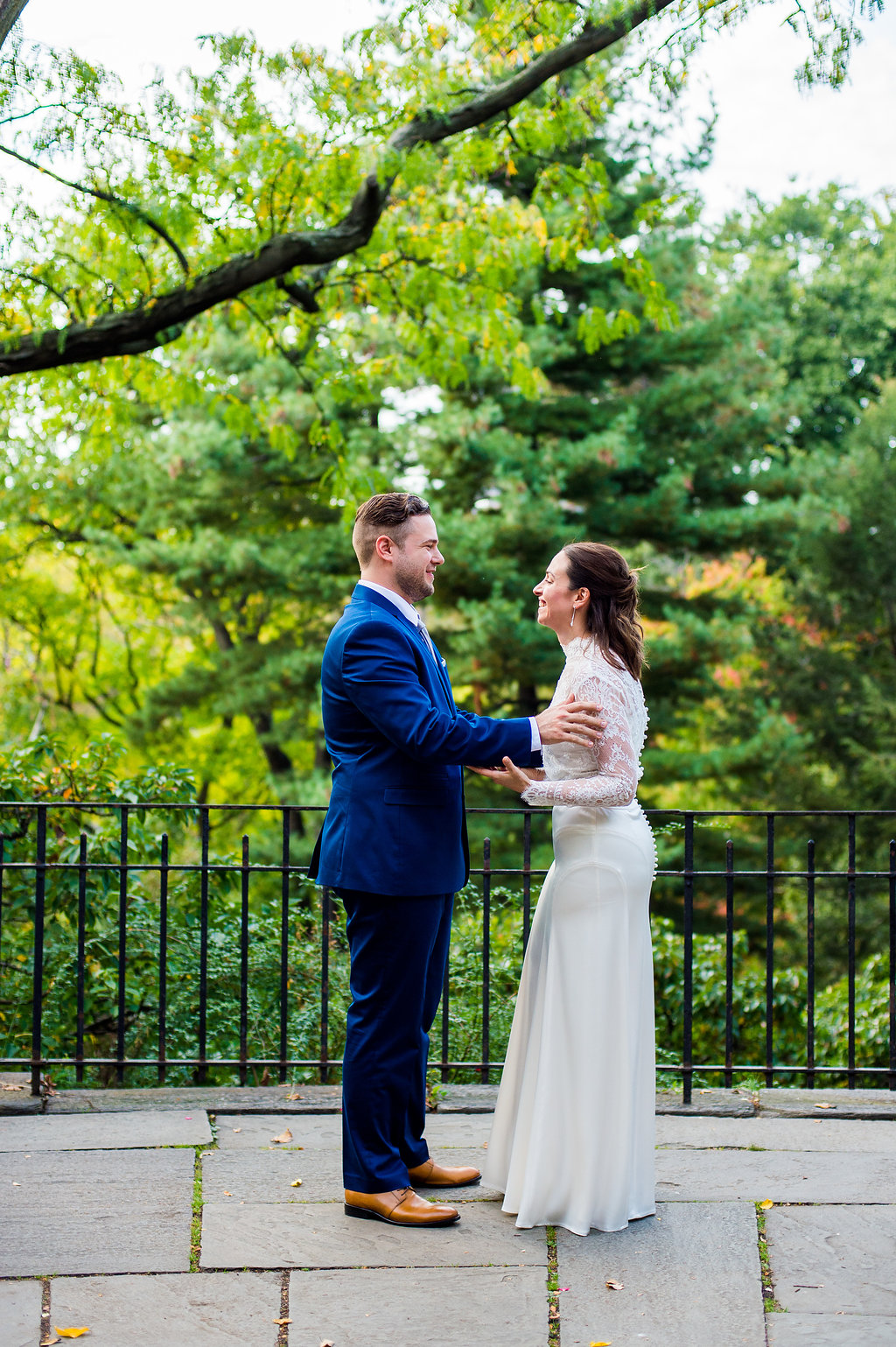 Central Park weddings are beautiful.