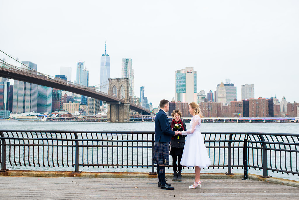 Hir a professional wedding officiant in Brooklyn to make sure your license is filed properly and promptly.