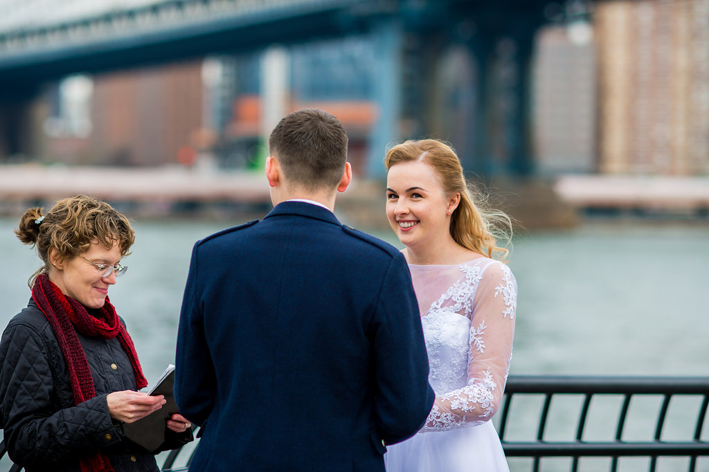 Eloping in Brooklyn Bridge Park will surely prove to be memorable, meaningful, and fun too!