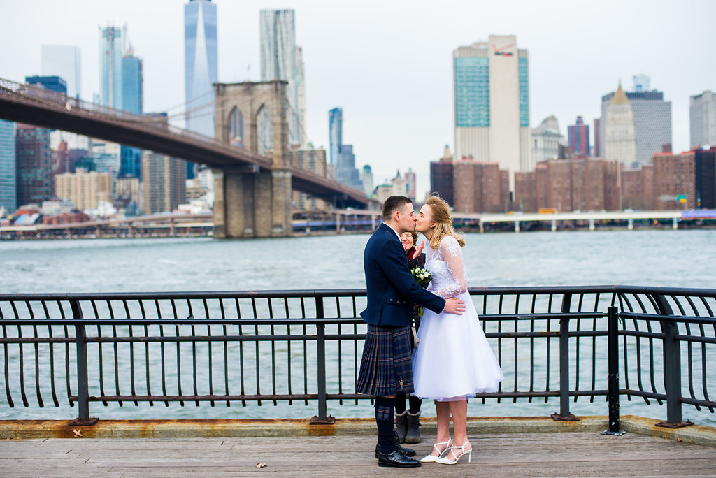 Eloping in Brooklyn is never boring.