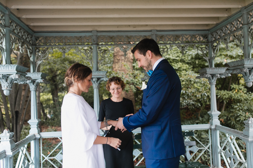 Elope in New York's Central Park with an experienced, registered wedding officiant.
