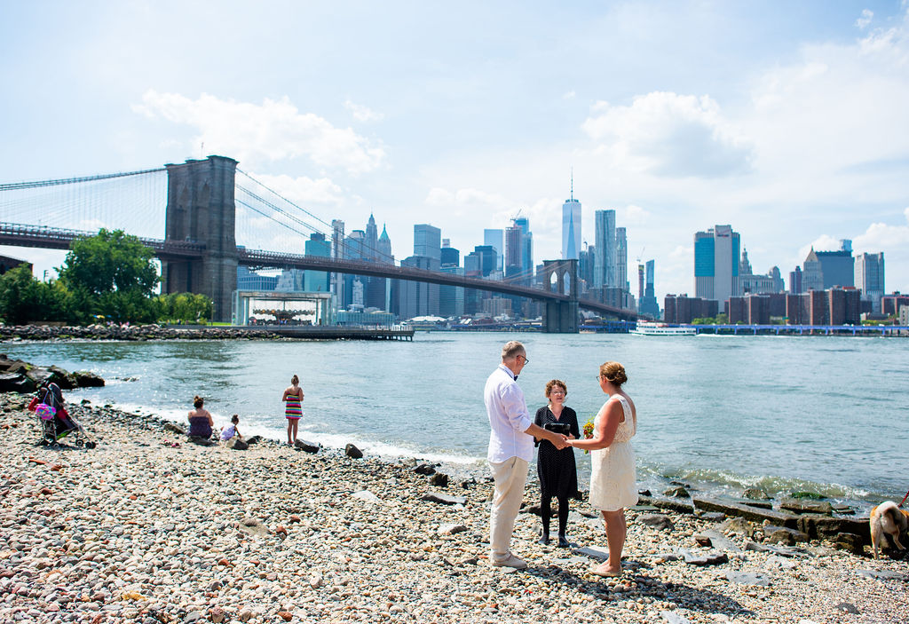 With a wedding officiant, you can get married anywhere in Brooklyn!