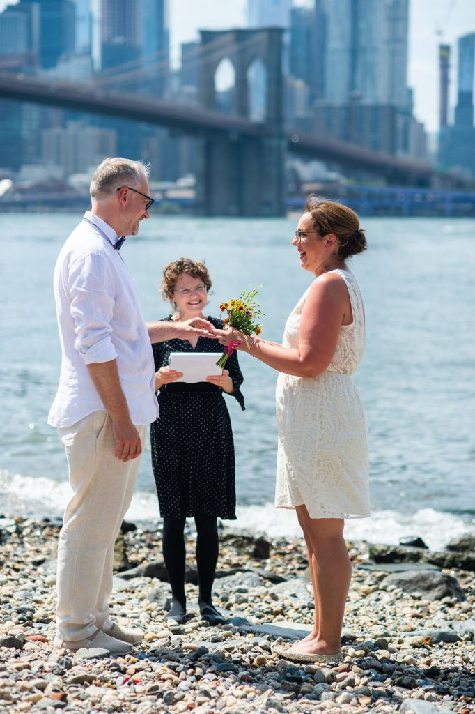 If wedding planning becomes too stressful, considering eloping in Brooklyn with a registered wedding officiant.